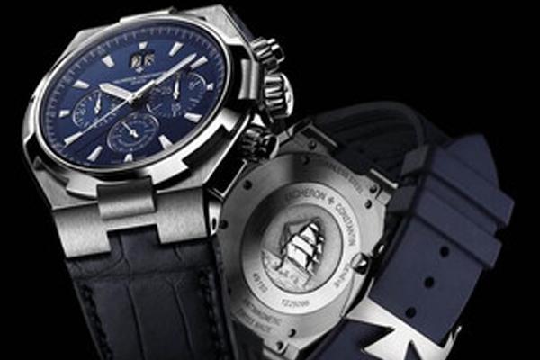 维修服务中心维修好的江诗丹顿手表展示