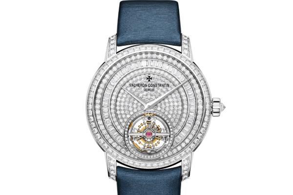 江诗丹顿手表维修中心展示手表